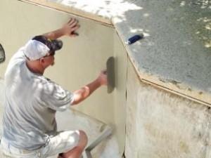 pool wall board